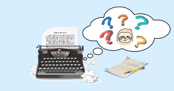 タイプライターとナマケモノ